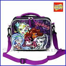 Monster High Skull Girls Insulated Lunch Bag for School