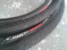 "PAIR OF Schwalbe BIG APPLE Tyres (28"" x 2.35) Bike Cycle (MB KEVLAR) Black"