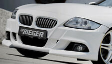 BMW Z4 E85 E86 Roadster Or Coupe 2006-2008 Rieger Genuine Front Bumper Spoiler