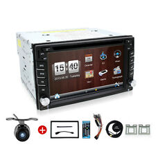 Video Car GPS Navigation DVD VCD Player Double 2Din Radio Audio BT Stereo Auto
