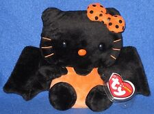 TY HELLO KITTY 2010 BAT BEANIE BABY - MINT with MINT TAG