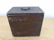 ANTIQUE WOODEN WILLCOX & GIBBS SEWING MACHINE BOX CASE