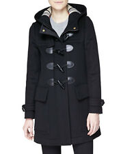 2016 Burberry Brit Finsdale Wool Duffle Coat Jacket size 6 EU40 $995 NEW AUTHENT