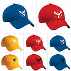 Pokemon Go Baseball Cap Team Mystic InstInct Valor Pocket Monster Cosplay Hat