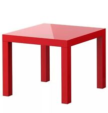 Ikea Lack Small Coffee Table Kids Table Red Side Table