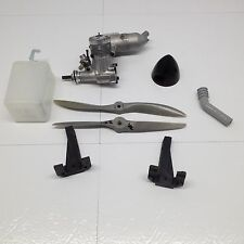 OS MAX FP 40 RC Engine with muffler Props Tank Engine Mount Spinner Fuel Tank