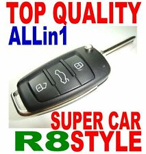 R8 STYLE FLIP KEY REMOTE FOR BMW VIRGIN CHIP NEVER BEEN CODED TRANSPONDER FOB E6
