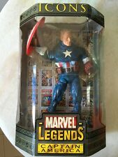 MARVEL LEGEND ICONS CAPTAIN AMERICA  12 INCH / DC / RARE / XMEN / AVENGES