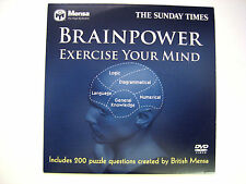 BRAINPOWER - EXERCISE YOUR MIND, A THE SUNDAY TIMES NEWSPAPER PROMOTION (1 DVD)