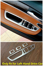 Stainless steel interior door cover armrest trim 4pcs For BMW X5 E70 2009-2013