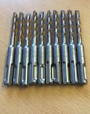 X10 6.5MM SDS Plus Brocas Corto Para Bosch Makita Martillo Perforador JOBLOT!!!