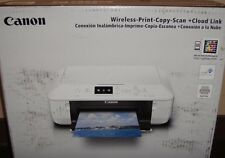 Canon MG5722 EDIBLE PRINTER W/ 5 EDIBLE INKS & 12 Wafer sheets- Silver + White