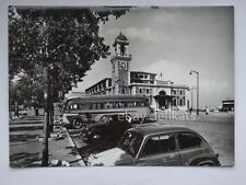TRIESTE autobus FIAT 600 Topolino vecchia cartolina