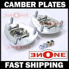 MK1 Pillowball Front Camber Plate Plates Strut Mount RSX For Coilover Kits
