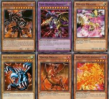 Five-Headed Dragon *Ultra* Rare Fusion: with + Five (5) Dragons Set / Lot YUGIOH