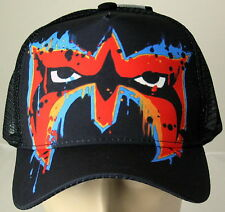 Ultimate Warrior Painted Mask WWE Licensed Baseball Cap Hat
