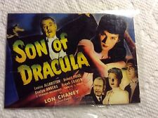 Breygent Classic Vintage  Movie Posters Collector Cards Son Of Dracula EUC