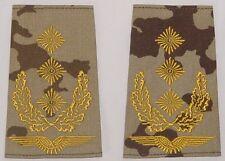 Dienstgradabzeichen Rangschlaufen, gestickt Generalleutnant in Wüste ......D7095