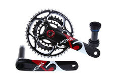 MOWA Five Mountain XC AM FR Bike Triple Cycling Crankset 44/32/22t 175mm Black