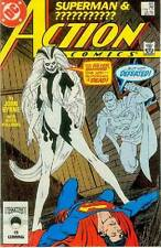 Action Comics # 595 (John Byrne) (Superman, 1st Silver Banshee) (Estados Unidos, 1987)