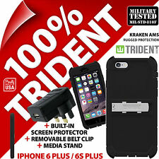 New Trident Kraken Rugged Case for Apple iPhone 6 Plus / 6S Plus + Mains Charger