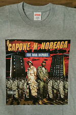 Informe de la guerra Supremo CNN CAJA con LOGOTIPO T-Shirt Gris Oscuro Pequeño vendido * en Mano