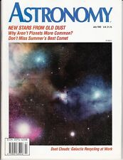 Astronomy Magazine July 1992, Galactic Archaeology, Ulysses , Comet Oservers