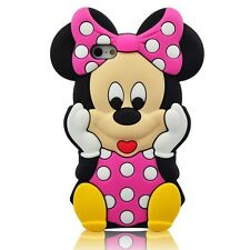 "For IPhone 6 6s Plus 5.5"" 3D Minnie Mouse Soft Silicone Case - B/P"