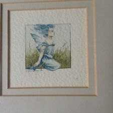 DEBBY FAULKNER STEVENS sign LIMITED EDITIONS NUMBERED FAIRY PAINTINGS 2 COLLECT