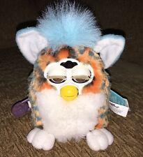 ~Vintage 1999 Furby Babies Tiger 70-940 Cheetah Print WORKS