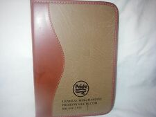 """PRIDE PRODUCTS LEATHER-LIKE BOUND LINED ADVERTISING PROMO JOURNAL 6"""" x"""