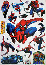 Súper Spider-Man Adhesivo Pared Decoración Adhesivos para