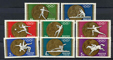 Hungary 1969 SG#2422-9 Olympic Gold Medal Winners MNH Set #A65749