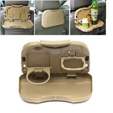 Universal Folding Auto Car Back Seat Table Drink Food Cup Tray Holder Stand Desk