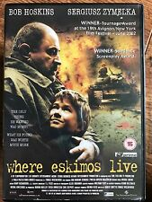 Bob Hoskins WHERE ESKIMOS LIVE ~ 2002 Bosnian / Bosnia war Drama | UK DVD