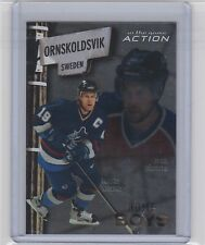 2003-04 IN THE GAME ACTION FORSBERG NASLUND ITG HOMEBOYS AVALANCHE