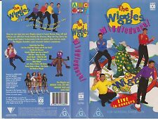 Vhs * The Wiggles - Wiggledance! * 1997 Anthony,Jeff,Greg & Murray live concert