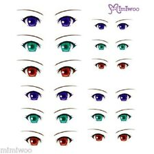 Parabox Obitsu 1/6 bjd Doll Dollfie Head Deco Eye Decal Sticker 09 (12 Pairs)