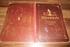 KNORR SAMMELBILDER-ALBUM:  WURZELPUTZ -- Geschichte eines kleinen Zwerges 1950er