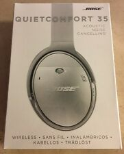 Bose QuietComfort QC35 WIRELESS Headphones Bluetooth - Silver (NEW)
