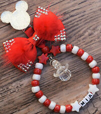 Personalised stunning pram charm in red for baby boys ideal gift