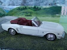 1/43 FORD mustang James Bond Goldfinger  007 series  diorama