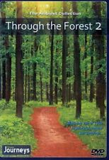 THROUGH THE FOREST V. 2 VIRTUAL WALK WALKING TREADMILL WORKOUT DVD AMBIENT COLL.