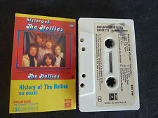 HISTORY OF THE HOLLIES ULTRA RARE AUSSIE CASSETTE TAPE!