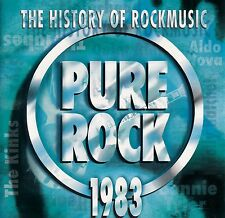 THE HISTORY OF ROCKMUSIC - PURE ROCK 1983 / CD - TOP-ZUSTAND