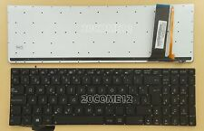 for ASUS N76VB N76VJ N76VM N76VZ N56VM N56VV Keyboard Spanish Teclado Backlit