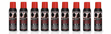 9 X Jerome Russell Black Spray on Hair Color Thickener 3.5 oz