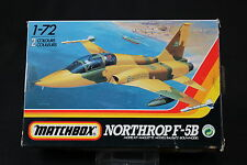 YN124 MATCHBOX 1/72 maquette avion 40039 Northrop F-5B