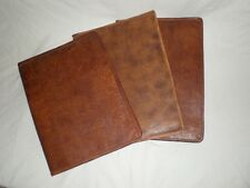 Handmade Goat Leather A5 Book Cover Document BCA5 Billy Goat Designs