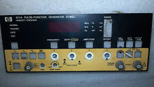 Front panel  for HP 8111A PULSE / FUNCTION Generator
